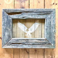 vintage wood board (eagle) by seashoe inc