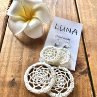 🌴Luna handmade crochet pierce