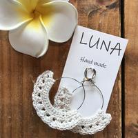 Luna handmade macramé pierce/sw