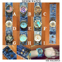 DENIM WATCH