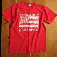 stars & stripes メンズTシャツ レッド