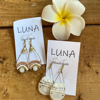 Drop gold pierce by Luna