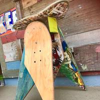 スケートデッキスツール