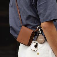 """ストレスフリーにファッションを楽しむ """"key&miller wallet shoulder"""""""