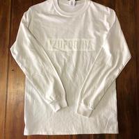 IZUFORNIA L /S 001 【WH×WH】ホワイト×ホワイト