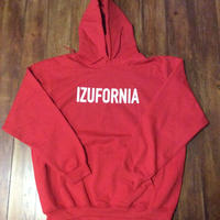 IZUFORNIA HOODED PK004  L/S 【red】