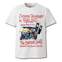 "OLDFOX JOUNEY in THAILAND限定受注Tシャツ ""TUKTUK"" White"