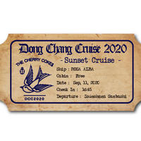Dong Chang Cruise 2020 - SUNSET CRUISE -