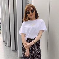 CE××NE刺繍Tシャツ[ホワイト刺繍]  直営店限定