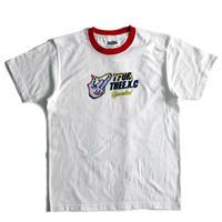 【TFOR】Tシャツ/ホワイト×レッド