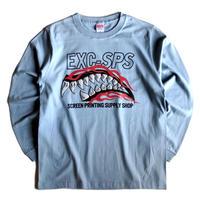 【EXC-SPS】お土産ロンT/アシッドブルー