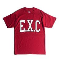 """""""ACADEMIC"""" (BEEFY/レッド) #EXC-7TS04"""