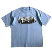 【CHRM】9.1oz Tシャツ/アシッドブルー