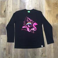 the FACTORY オリジナル ロングTシャツ (ブラック)
