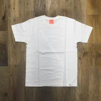 the FACTORY オリジナル ロゴTシャツ (白×白ロゴ)