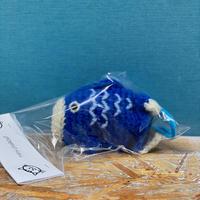 ミミちゃんチョークボール(青い鯉)