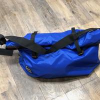 MOON S7 ロープバッグ  ブルー/レッド
