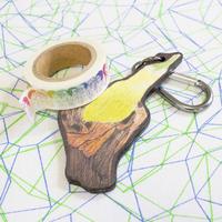 オリジナルマステ x ナスのキーチャームセット ~original masking tape x Eggplant key charm~