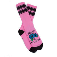ALWAYS A PLEASURE SOCKS - PINK