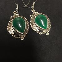 Sale!  green エスニックピアス boho