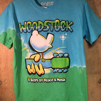 Size S  Woodstock tee  ウッドストック Tシャツ  ブルー