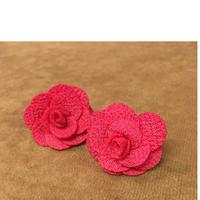 Rose ピアス ピンク 小 薔薇