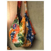 ムラ染ショルダーバッグ syf   handmade  hippie