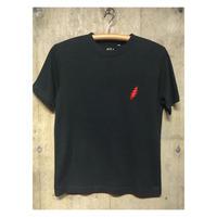 SizeM gratefuldead HEMP  T ライジングボルト グレイトフルデッド ヘンプ オーガニックコットン Tシャツ black