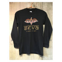 Size S   SEVA T   gratefuldead   グレイトフルデッド ロングスリーブTシャツ  black