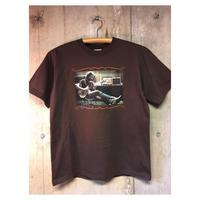 メンズ sizeM    Jerry Garcia Tシャツ gratefuldead グレイトフルデッド ジェリーガルシア ブラウン