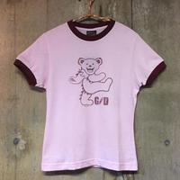 レディース Size S   DancingBear  Tシャツ  gratefuldead グレイトフルデッド