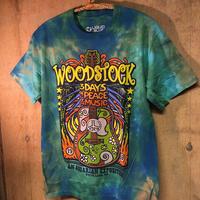 Size S  Woodstock  tyedie tee  ウッドストック タイダイ  Tシャツ