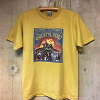 メンズ sizeM  gratefuldead  FIRST LP T-SHIRTS  マスタードイエロー  グレイトフルデッド Tシャツ