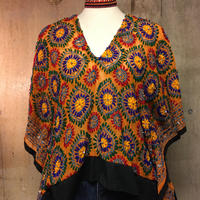 サイズフリー 刺繍トップス  boho エスニック hippie