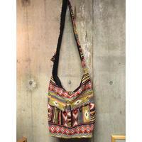 ショルダーバッグ インド織物 エスニックバッグ hippie ethnic