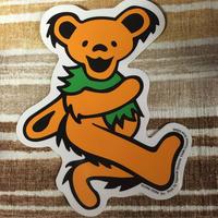 gratefuldead bear グレイトフルデッド  ダンシングベア オレンジ