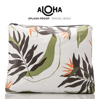 ALOHA Collection Painted Birds Large Pouch プリンテッドバード ラージポーチ