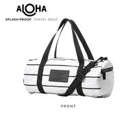 ALOHA Collection Pinstripe Mini Duffle - Black Stripes アロハコレクション ピンストライプ ミニダッフル