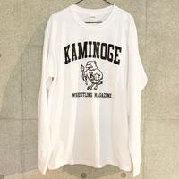 [井口弘史]KAMINOGE BIRD 長袖Tシャツ
