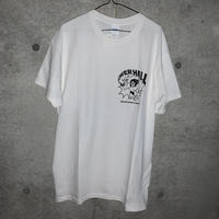 [DEPT]THE POWER HALL TEE WHITE[長州力]