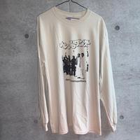[五木田智央]ペールワンズ長袖Tシャツ(sand)