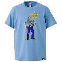 [WWE LEGEND]ザ・ビッグ・ボスマンTシャツ(サックス)
