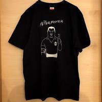 """[五木田智央] """"THE PETER POWER"""" Tシャツ(黒)"""