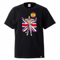 [WWE LEGEND]ブリティッシュ・ブルドッグTシャツ(黒)