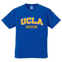 "[UCLA]""UCLA WRESTLING"" ドライメッシュTEE COBALT BLUE"