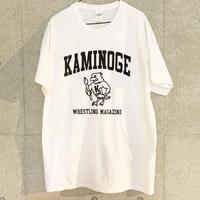 [井口弘史]KAMINOGE BIRD Tシャツ