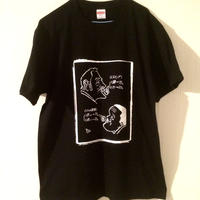 """藤原喜明""""ゴッチ教室""""Tシャツ (黒)"""