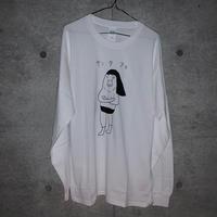 [Shinsuke Nakamura]サンタフェ 長袖Tシャツ(white)[長州力]