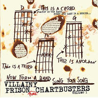 VILLAINY PRISON PUNK CHARTBUSTERS (CD)  2018/02/21