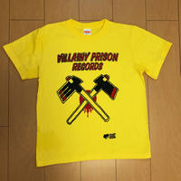 VILLAINY PRISON RECORDS  レーベルシャツ